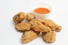 stekt kyckling Arkivbilder