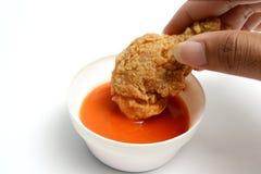 stekt kyckling Royaltyfri Fotografi