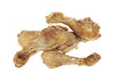 Stekt kyckling lägger benen på ryggen Royaltyfri Foto