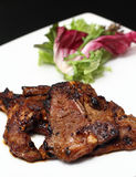 stekt lamb marinated pannakugge Royaltyfria Foton