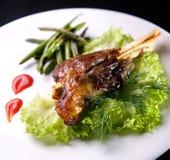 stekt meat royaltyfri foto