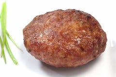 stekt meatball Arkivfoto