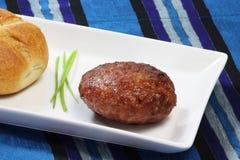 stekt meatball Fotografering för Bildbyråer