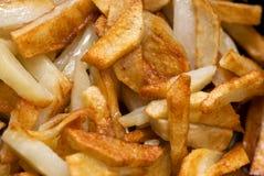 stekt potatis royaltyfria foton