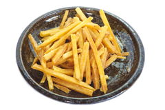 stekt potatis Arkivbild