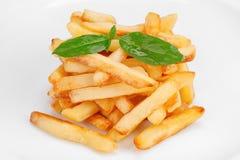 stekt potatis Royaltyfri Foto