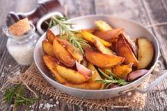stekt potatis royaltyfri bild