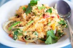 stekt pulver för krabba curry royaltyfri bild
