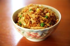 stekt rice Royaltyfria Foton