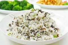 stekt rice Arkivfoton
