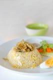 stekt rice royaltyfri bild