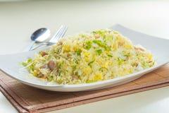 stekt rice Arkivbild