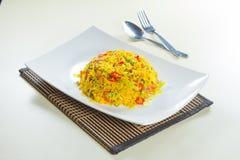 stekt rice Arkivbilder