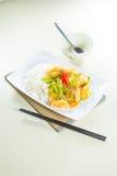 stekt rice Royaltyfria Bilder