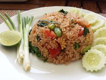 stekt ricegrönsak Arkivfoto