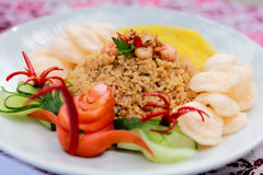 stekt ricespecial Royaltyfri Foto
