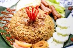 stekt ricespecial Arkivbilder