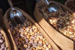 stekt socker för mandelar kanel Skandinavisk sötma Fotografering för Bildbyråer