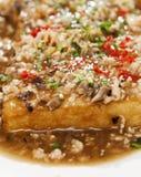 stekt tofu Royaltyfria Foton