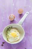 stekte ägg Royaltyfri Bild