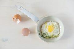 stekte ägg Arkivfoton