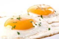 stekte ägg Royaltyfri Fotografi