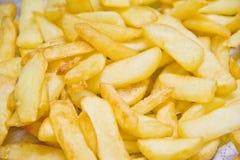Stekte chiper Arkivfoto