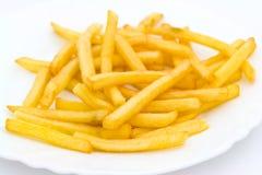 stekte potatisar Royaltyfria Foton