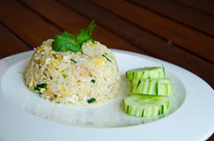 Stekte ris Arkivfoton