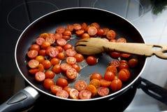 Stekte tomater Royaltyfri Bild