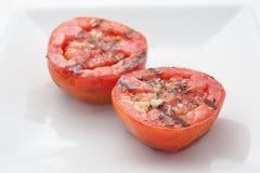 stekte tomater Arkivbilder
