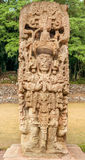Stela at Copan Ruins Royalty Free Stock Photo