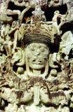 stelae города copan Стоковые Фото