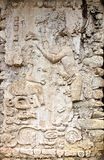 Stele in El Palacio Palenque Stock Photography