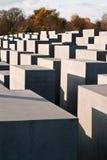 Stele field in Berlin Royalty Free Stock Photos