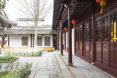 The Stele Passageway and house royalty free stock photos