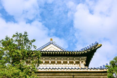 The Stele Pavilion roof Royalty Free Stock Image