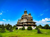 StElias-Ukrainer-Kirche stockbilder