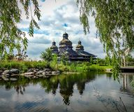 StElias-Ukrainer-Kirche lizenzfreies stockfoto