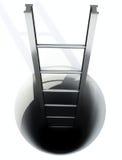 Stell ladder Stock Images