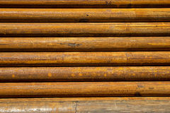 Stell pipe for drilling Royalty Free Stock Photos