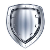 Stell shield only Stock Photo