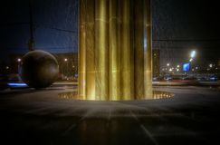 Stella. Abstract, monument, light, urban Stock Image