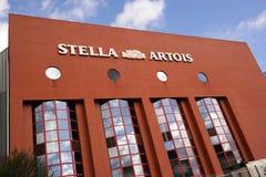 Stella Artois-Brauerei Stockbild