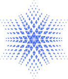 Stella blu Immagini Stock