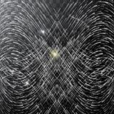 Stella cadente intelligente astratta - fucilazione con la traccia di twinkling su fondo trasparente - meteorite, cometa, asteroid royalty illustrazione gratis