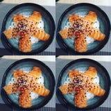 Stella dei sushi Immagine Stock