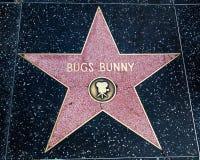 Stella del Bugs Bunny Fotografia Stock Libera da Diritti