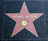 Stella del Michael Jackson fotografia stock