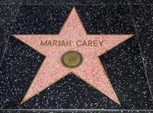 Stella del ` s di Mariah Carey, passeggiata di Hollywood di fama - 11 agosto 2017 - boulevard di Hollywood, Los Angeles, Californ fotografia stock